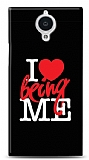 General Mobile Discovery Elite I Love Being Me Black Kılıf