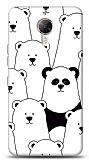 General Mobile GM 5 Plus Lonely Panda Resimli Kılıf