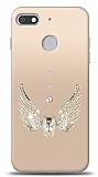 General Mobile GM 8 GO Angel Death Taşlı Kılıf
