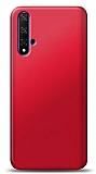 Honor 20 Kırmızı Mat Silikon Kılıf