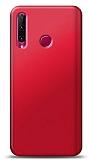 Honor 20 Lite Kırmızı Mat Silikon Kılıf