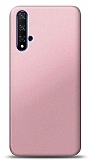 Honor 20 Rose Gold Mat Silikon Kılıf