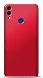Honor 8C Kırmızı Mat Silikon Kılıf