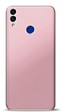 Honor 8C Rose Gold Mat Silikon Kılıf