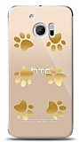 HTC 10 Gold Patiler Kılıf