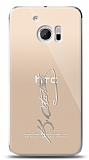 HTC 10 Silver Atatürk İmza Kılıf
