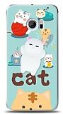 HTC 10 Üç Boyutlu Sevimli Kedi Kılıf