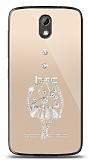 HTC Desire 526 Balerin Taşlı Kılıf