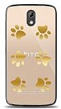 HTC Desire 526 Gold Patiler Kılıf