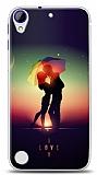 HTC Desire 830 I Love Umbrella Kılıf