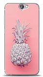 HTC One A9 Pink Ananas Kılıf