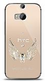 HTC One M8s Angel Death Taşlı Kılıf