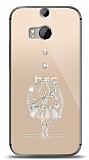 HTC One M8s Balerin Taşlı Kılıf