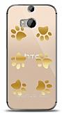 HTC One M8s Gold Patiler Kılıf