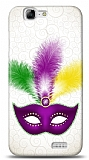 Huawei Ascend G7 Purple Mask Kılıf