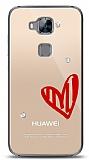 Huawei G8 3 Taş Love Kılıf