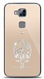 Huawei G8 Balerin Taşlı Kılıf
