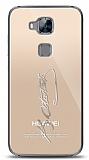 Huawei G8 Silver Atatürk İmza Kılıf