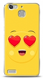 Huawei GR3 Aşk Emoji Kılıf