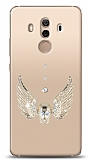 Huawei Mate 10 Pro Angel Death Taşlı Kılıf
