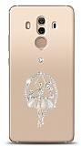 Huawei Mate 10 Pro Balerin Taşlı Kılıf