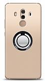 Huawei Mate 10 Pro Siyah Tutuculu Şeffaf Kılıf