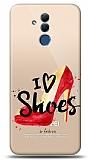 Huawei Mate 20 Lite I Love Shoes Resimli Kılıf