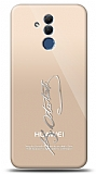 Huawei Mate 20 Lite Silver Atatürk İmza Kılıf