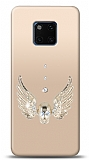 Huawei Mate 20 Pro Angel Death Taşlı Kılıf
