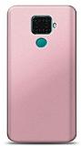 Huawei Mate 30 Lite Rose Gold Mat Silikon Kılıf