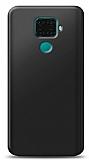 Huawei Mate 30 Lite Siyah Mat Silikon Kılıf