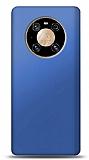 Huawei Mate 40 Pro Lacivert Mat Silikon Kılıf