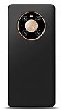 Huawei Mate 40 Pro Siyah Mat Silikon Kılıf