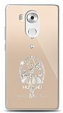 Huawei Mate 8 Balerin Taşlı Kılıf