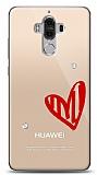 Huawei Mate 9 3 Taş Love Kılıf