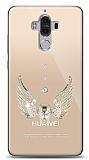 Huawei Mate 9 Angel Death Taşlı Kılıf