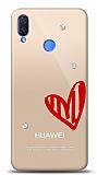 Huawei P Smart 2019 3 Taş Love Kılıf