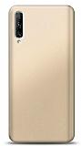 Huawei P Smart Pro 2019 Gold Mat Silikon Kılıf