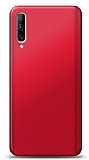Huawei P Smart Pro 2019 Kırmızı Mat Silikon Kılıf