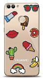 Huawei P Smart Stickers Resimli Kılıf