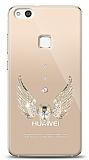 Huawei P10 Lite Angel Death Taşlı Kılıf