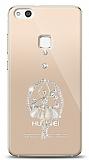 Huawei P10 Lite Balerin Taşlı Kılıf