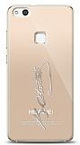Huawei P10 Lite Silver Atatürk İmza Kılıf