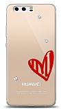Huawei P10 Plus 3 Taş Love Kılıf