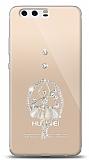 Huawei P10 Plus Balerin Taşlı Kılıf