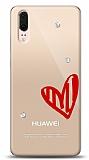 Huawei P20 3 Taş Love Kılıf