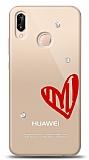 Huawei P20 Lite 3 Taş Love Kılıf