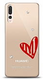 Huawei P20 Pro 3 Taş Love Kılıf