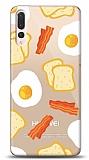Huawei P20 Pro Breakfast Resimli Kılıf