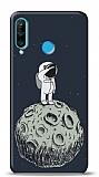 Huawei P30 Lite Astronot Resimli Kılıf